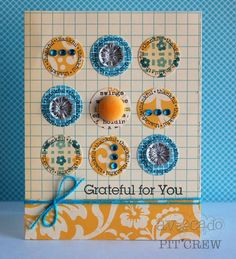 Grateful for You Card by @Teri Anderson
