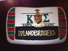 Painted a Cooler for my Big Brother