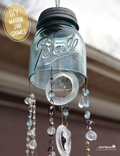 DIY Mason Jar Chimes !!