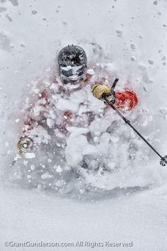 Cody Townsend skiing deep powder at Mt. Baker #ekosport #freeride
