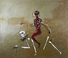 Riding with Death (1988) - Jean-Michel Basquiat