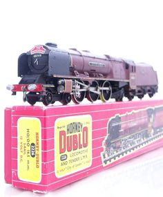 HORNBY DUBLO 2226 - 2RAIL - BR DUCHESS PACIFIC CLASS  CITY OF LONDON   No.46245