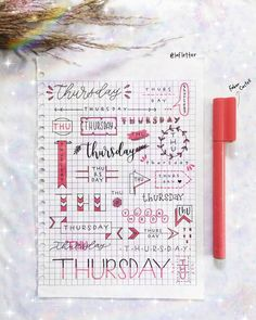 535 Likes, 6 Comments - Hand Lettering Bullet Journal Headers, Bullet Journal Junkies, Bullet Journal Ideas Pages, Bullet Journal Inspiration, Learn To Write Calligraphy, V Instagram, Cute Easy Drawings, Hand Lettering Fonts, Learning To Write