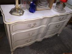 shabby chic double dresser $349 Double Dresser, Antique Shops, Shabby Chic, Antiques, Furniture, Home Decor, Antiquities, Antique Stores, Antique