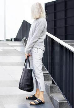 black and grey #outfit #style