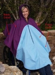Polartec™ Ultrex™ Wintercape to fit over wheelchair. Other accessories available at this website.