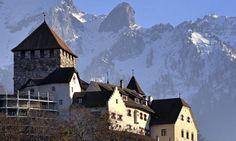 The tiny country of Liechtenstein. DONE! Visited Vaduz, Liechtenstein, in August 2013.