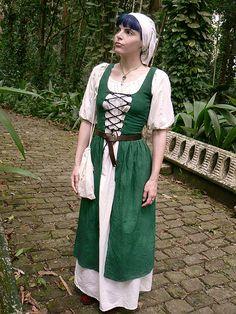 Medieval Irish Clothing Patterns   Irish Dress   Flickr - Photo Sharing!