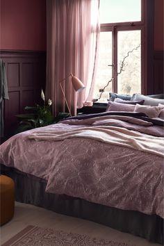 Vzorovaný bavlnený koberček - tlmená ružová - HOME | H&M SK