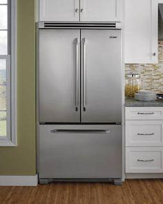Dacor Epicure 36-inch Freestanding French Door Cabinet Depth Freezer Refrigerator