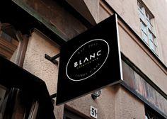 Blanc: Creative Hub by Samara Grace Nettleford, via Behance
