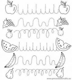 Crafts,Actvities and Worksheets for Preschool,Toddler and Kindergarten.Free printables and activity pages for free.Lots of worksheets and coloring pages. Preschool Writing, Preschool Printables, Preschool Learning, Kindergarten Worksheets, Writing Activities, Preschool Activities, Teaching, Pre Writing, Writing Skills