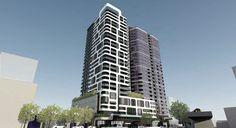 ARIA site on Hope Street, South Brisbane Brisbane, Skyscraper, Multi Story Building, Skyline, Street, Skyscrapers, Walkway