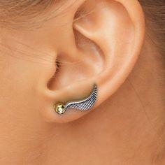 Kleine oor klimmer oorbellen Potter oorbellen door PaulMichaelDesign