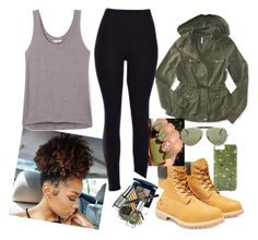 """I'm Loving it"" by madashley-cajuste ❤ liked on Polyvore featuring Aéropostale, Timberland, Rebecca Minkoff, Ray-Ban and Gray Malin"