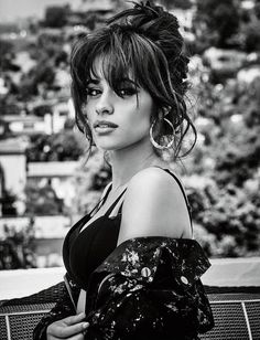 Camila Cabello is the face of Guess' new Holiday 2017 campaign, and the photoshoot for the campaign has been released - which was photographed at Los Angeles' Chateau Marmont Hotel, with model Alex Dellisola. Cabello Hair, Fangirl, Girl Inspiration, Female Singers, American Singers, Hairstyles With Bangs, Woman Crush, Hair Goals, Her Hair