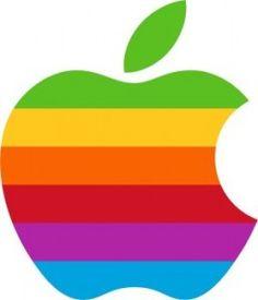 logo antiguo de apple