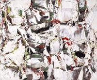 1956 Painting, Artist Paul-Émile Borduas, National Gallery of Canada, Artwork Page: The Climb - Canadian Paintings in the Thirties. Follow the biggest painting board on Pinterest: www.pinterest.com/atelierbeauvoir