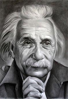 Albert Einstein 2 by donchild on DeviantArt