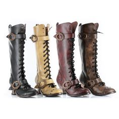 'Vintage' Knee-High Boots - Women's Clothing & Symbolic Jewelry – Sexy, Fantasy, Romantic Fashions