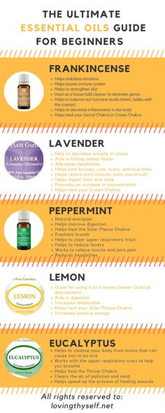 My top 5 must have and favorite essential oils that are great for beginners, wanting to know the benefits, the safety, and how I personally use essential oils daily to help heal my own life in a natural holistic way. Lavender peppermint frankincense lemon and eucalyptus #essentialoils #healthyliving