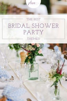 Plan the perfect bridal shower! Here are the BEST themes for 2021 / Bridal shower ideas / How to plan a Bridal Shower / Bridal Shower Inspiration / Lemon Bridal Shower / Garden / Southwest / Aloha / Something Blue / Tiffany's / Chanel / Adventure Awaits / Pearls of Wisdom Bridal Shower / Harry Potter / Friends Series / Pastel & Floral / Blush & Gold / Fiesta / Bohemian / Tea Party / Black & White Glam / Vogue Lingerie / Bubbles & Besties / Vintage Glamour / Scooped Up / Mint to Be / Rustic… Tea Party Bridal Shower, Bridal Shower Favors, Wedding Favors, Harry Potter Friends, Friends Series, Shower Inspiration, Cool Themes, Pastel Floral, Blush And Gold
