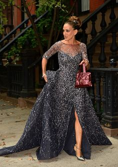 Sarah Jessica Parker Went to the Ballet as Carrie Bradshaw Last Night - HarpersBAZAAR.com