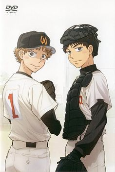 Tags: Anime, Cap, Baseball, Baseball Glove, Ookiku Furikabutte, Helmet, Baseball Uniform