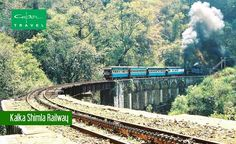 Enjoy a journey on the Kalka Shimla Railway to experience the freshness of nature. This narrow gauge railway takes you along a mostly mountainous route from Kalka to Shimla.
