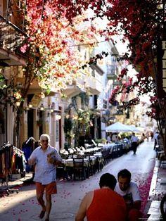 the street of my dreams, greece.