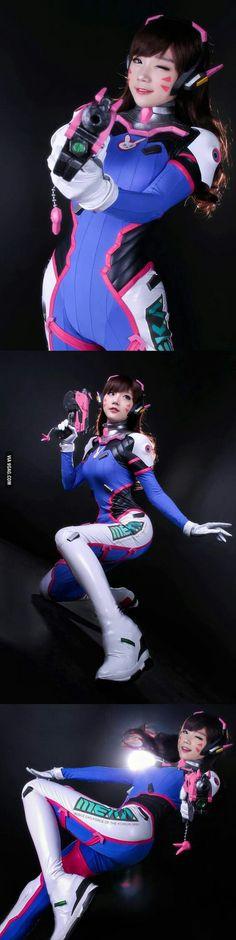 http://amzn.to/2k2HTMQ  Coser: Aza Miyuko | Character: D.VA from Overwatch