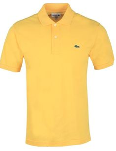 Lacoste Outlet, Polos Lacoste, Polo Shirt, Polo Ralph Lauren, Mens Tops, Shirts, Fashion, Lacoste Men, Yellow