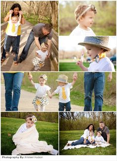 {New Blog Post!!}Family Picture Ideas: Polka Dots & Chevron...perfect for Spring Portraits!