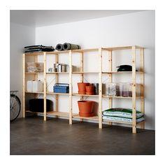 HEJNE 4 elementen/planken IKEA Door planken en elementen toe te voegen kan je je combinatie eenvoudig vergroten als je meer opbergruimte nodig hebt.