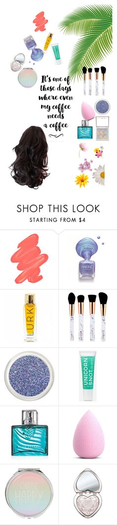 """""""my coffee needs a coffee"""" by lindsss2 on Polyvore featuring beauty, Obsessive Compulsive Cosmetics, Hard Candy, Avon and Too Faced Cosmetics"""