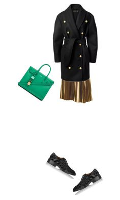 """Balmainhm"" by clment-picot on Polyvore featuring A.L.C., Givenchy, Yves Saint Laurent and Balmain"