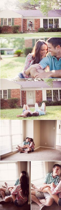 First home pics. What a cute idea!!