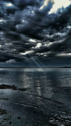 Storm clouds on the Sea - Discovering the beauty in life : Join the Journey…