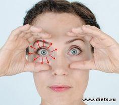 Упражнение от морщин вокруг глаз: Фейскультура: методы естественного омоложения: Группы - diets.ru
