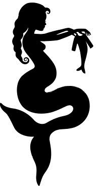 Pregnant Mermaid Silhouette                                                                                                                                                      More