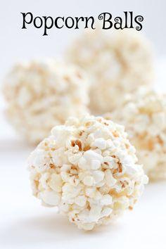 Classic Popcorn Balls from @FoodnFocus