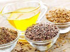 L'huile de lin est composée à 50% d'acides gras oméga-3. De loin l'huile qui en contient le plus. Elle réduit les risques de troubles cardiovasculaires et pourrait avoir un effet sur l'ostéoporose. Très fragile et doit être consommée très rapidement. Se dégradant facilement, elle devient alors toxique pour l'organisme. Il ne faut jamais la chauffer, et ne pas l'utiliser si une odeur désagréable s'en dégage.