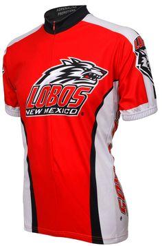 NCAA New Mexico Cycling Jersey,Medium