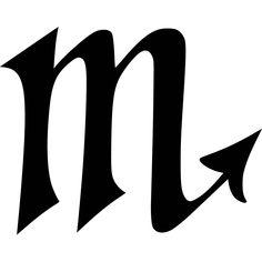 Scorpio Symbol Die-Cut Decal Car Window Wall by BeeMountainVa Taurus And Scorpio, Zodiac Signs Scorpio, Scorpio Horoscope, Scorpio Sign Tattoos, Tattoo Signs, Mini Tattoos, Small Tattoos, Escorpion Tattoo, Spartan Tattoo