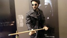 1/6 Carlito's Way. Carlito Brigante. Pool stick made and painted by me. Figure by Blitzway.