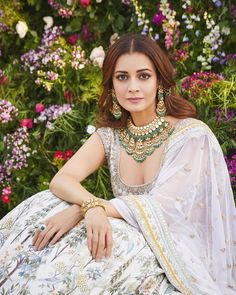 Shop from an exclusive range of luxurious wedding dresses & bridal wear by Anita Dongre. Bring home hand-embroidered wedding wear in colors inspired by nature. Indian Wedding Outfits, Indian Outfits, Ethnic Fashion, Indian Fashion, Luxury Wedding Dress, Indian Designer Wear, Bollywood Fashion, Bollywood Celebrities, Anarkali