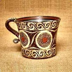 MINOAN pottery click now for info. Ceramic Pottery, Pottery Art, Ceramic Art, Ceramic Mugs, Minoan Art, Bronze Age Civilization, Ancient Greek Art, Ancient Greece, Creta