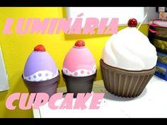 Luminária de Cupcake