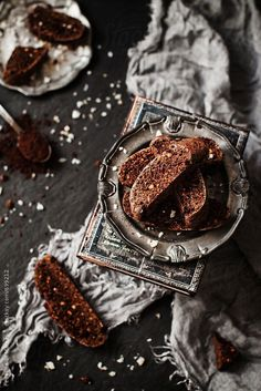 Jaffa biscotti by Federica Di Marcello - Stocksy United Dark Food Photography, Cake Photography, Best Chocolate Desserts, Yummy Cupcakes, Artisan Bread, Food Menu, Food Design, Us Foods, Fall Recipes