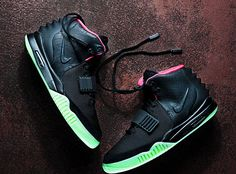 Nike Air Yeezy 2 Black/Solar-Red – A Detailed Look